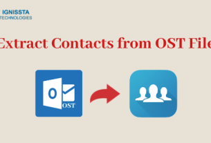 Extract Outlook Contacts from OST File