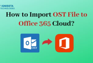 Import OST to Office 365