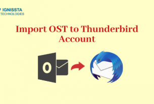Import OST to Thunderbird
