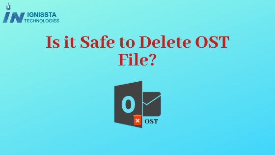Is it safe to delete OST file