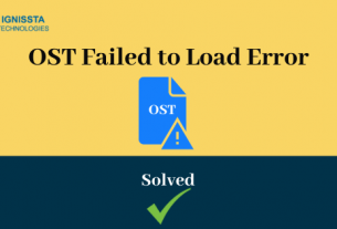 OST File Failed to Load Error