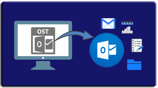 ost to pst converter manually